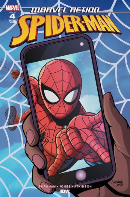 IDW Publishing Marvel Action: Spider-Man #4A Comic Book