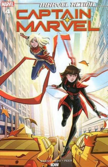 IDW Publishing Marvel Action: Captain Marvel #4A Comic Book