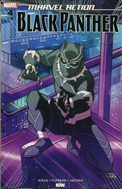 IDW Publishing Marvel Action: Black Panther #4A Comic Book