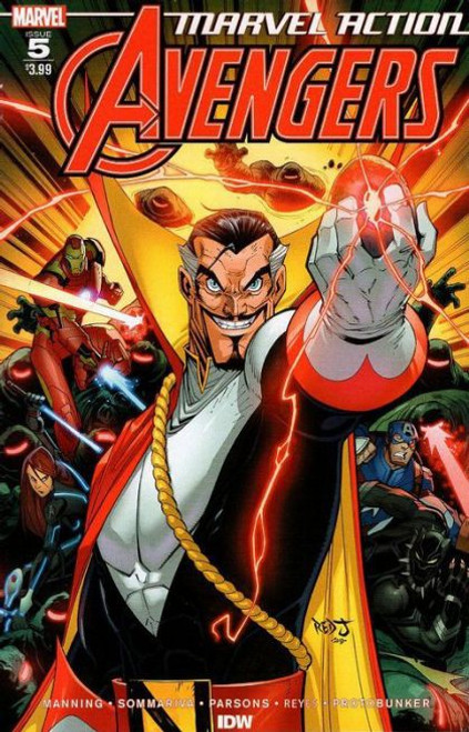 IDW Publishing Marvel Action: Avengers #5A Comic Book