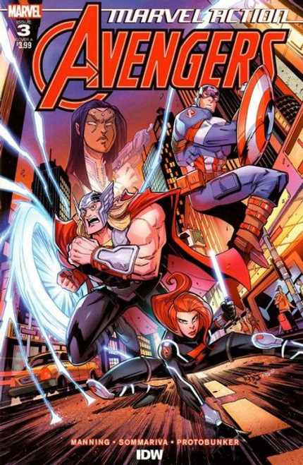 IDW Publishing Marvel Action: Avengers #3A Comic Book