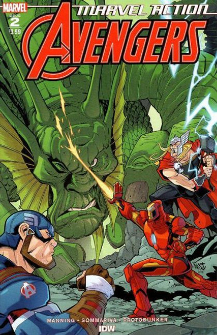 IDW Publishing Marvel Action: Avengers #2A Comic Book
