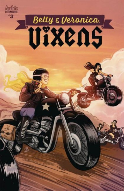 Archie Comic Publications Betty And Veronica: Vixens #3A Comic Book