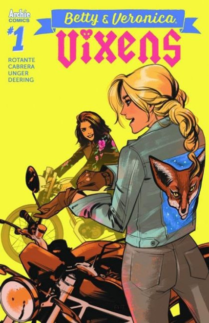 Archie Comic Publications Betty And Veronica: Vixens #1C Comic Book