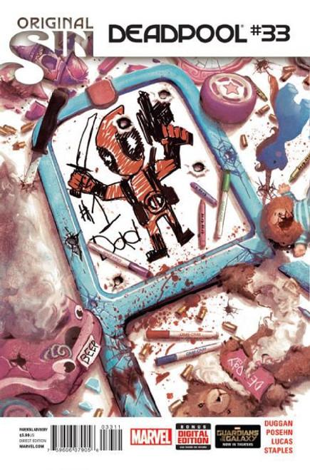 Marvel Deadpool, Vol. 4 #33A Comic Book
