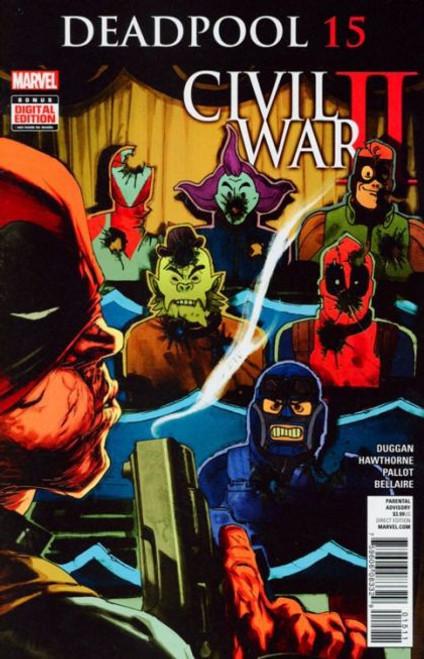 Marvel Deadpool, Vol. 5 #15A Comic Book
