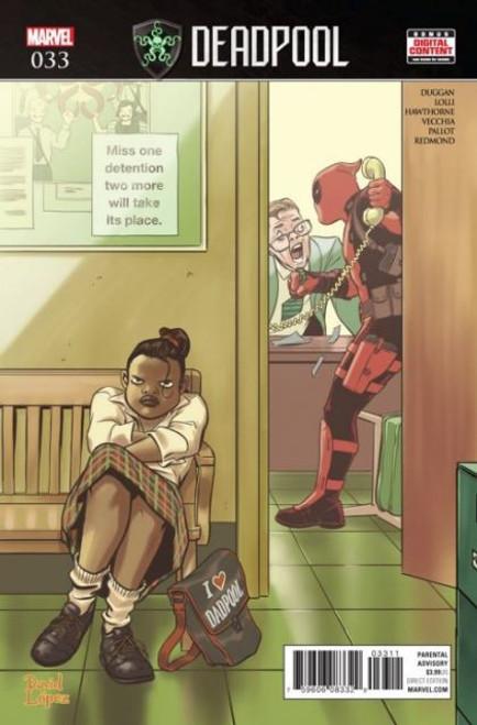 Marvel Deadpool, Vol. 5 #33A Comic Book