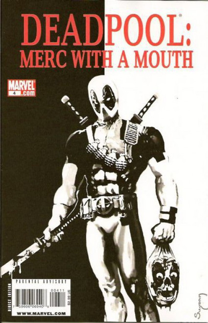 Marvel Deadpool: Merc With a Mouth #4 Comic Book