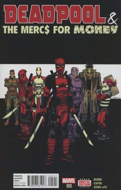 Marvel Deadpool & the Mercs For Money, Vol. 1 #5A Comic Book