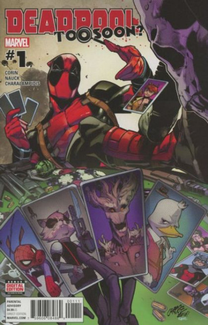 Marvel Deadpool: Too Soon? #1A Comic Book