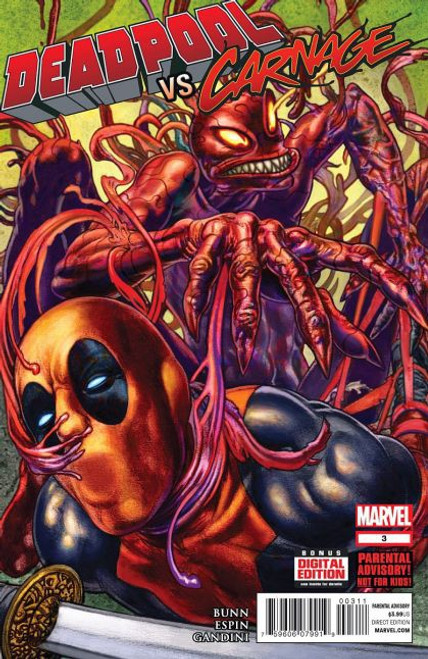 Marvel Deadpool vs. Carnage #3A Comic Book