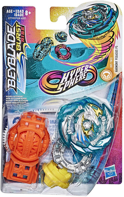 Beyblade Burst Rise Hypersphere Harmony Pegasus P5 Starter Pack