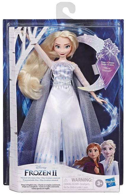 Disney Frozen Frozen 2 Musical Adventure Elsa Singing Doll
