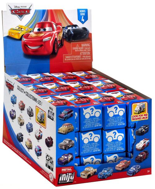 Disney Cars 3 Metal Mini Racers Series 4 Mystery Box [36 Packs]