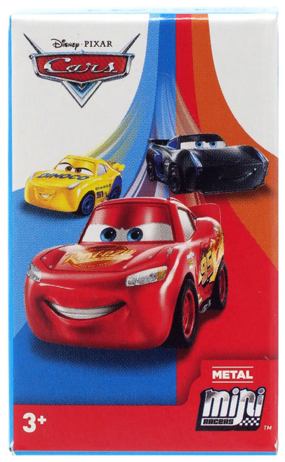 Disney Cars 3 Metal Mini Racers Series 4 Mystery Pack