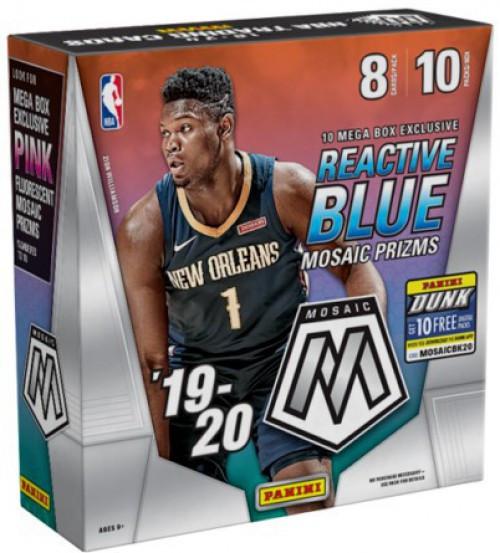 NBA Panini 2019-20 Prizm Mosaic Basketball Exclusive Trading Card MEGA Box [10 Packs]