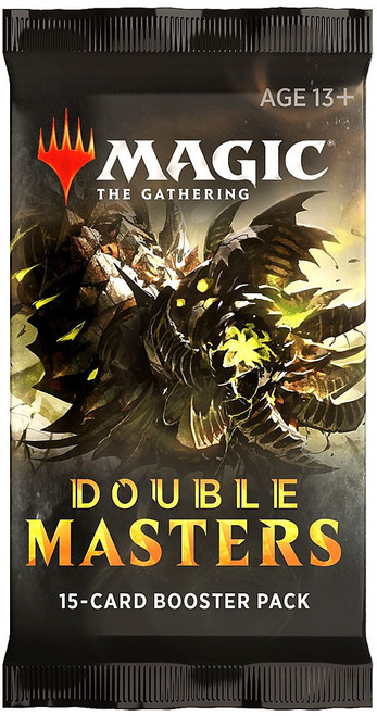 MtG Trading Card Game Double Masters Booster Pack [15 Cards]
