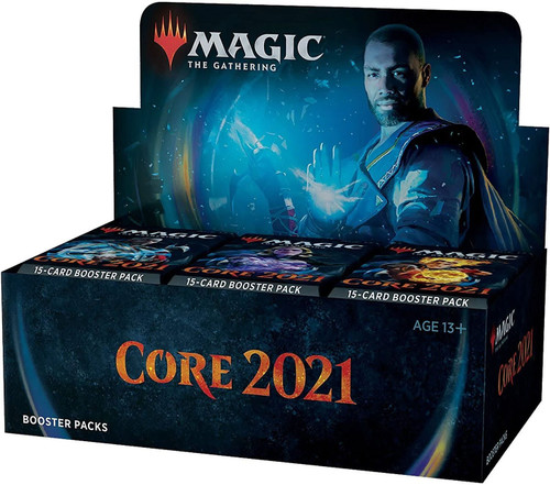 MtG Trading Card Game 2021 Core Set Booster Box [36 Packs]