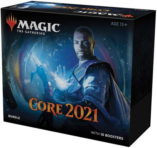 MtG Trading Card Game 2021 Core Set Bundle [Includes 10 Booster Packs!]