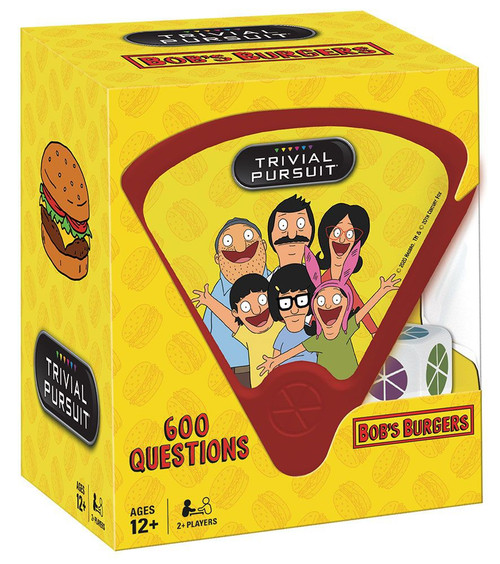 Trivial Pursuit Bob's Burgers
