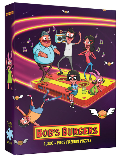 Bob's Burgers Belchers in Space 1000 Piece Puzzle (Pre-Order ships September)