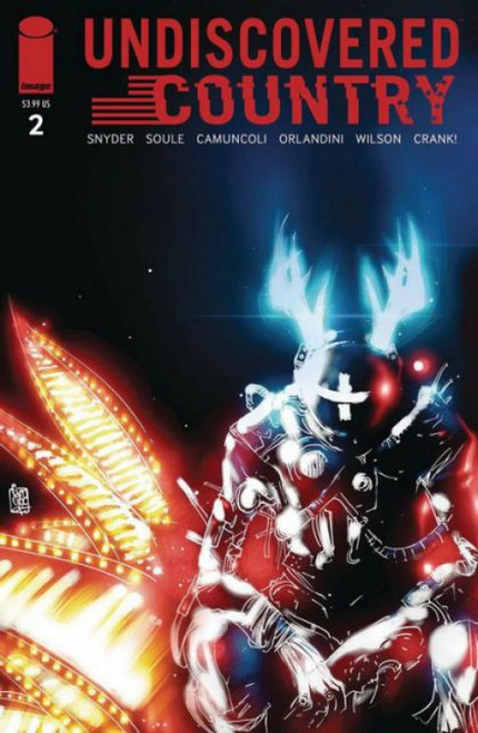 Image Comics Undiscovered Country #2A Comic Book