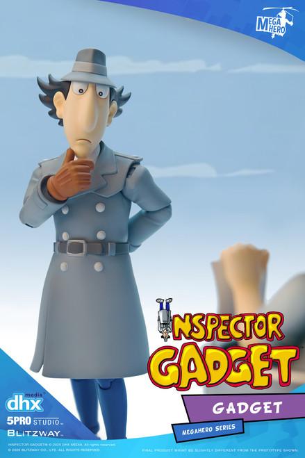 5Pro Studios Inspector Gadget Gadget MEGAHERO Action Figure (Pre-Order ships March)