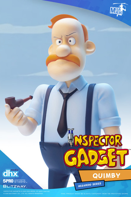 5Pro Studios Inspector Gadget Quimby MEGAHERO Action Figure (Pre-Order ships October)