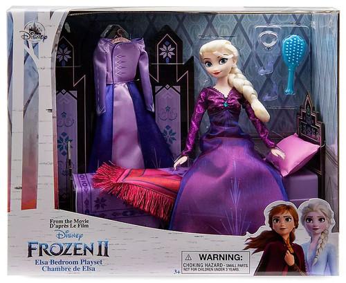 Disney Frozen Classic Elsa Bedroom Exclusive 11-Inch Doll Playset