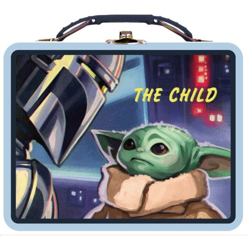 Star Wars The Mandalorian Baby Yoda The Child Tin Carry All (Pre-Order ships November)