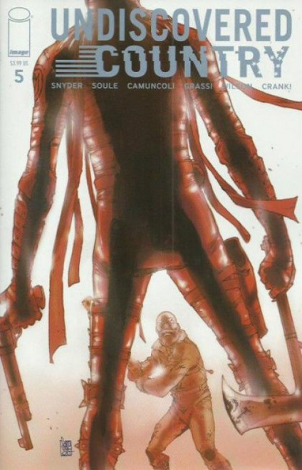 Image Comics Undiscovered Country #5A Comic Book