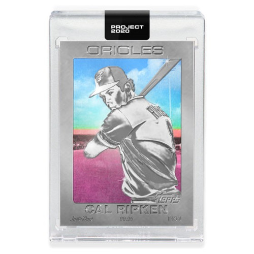 MLB Topps Project 2020 Baseball 1982 Cal Ripken Jr. Trading Card [#92, by Don C.]
