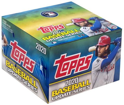 MLB Topps 2020 Update Series Baseball Trading Card RETAIL Box [24 Packs]