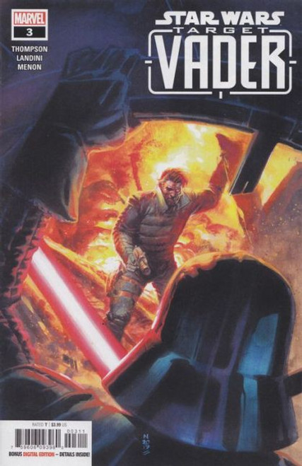Marvel Star Wars: Target - Vader #3 Comic Book