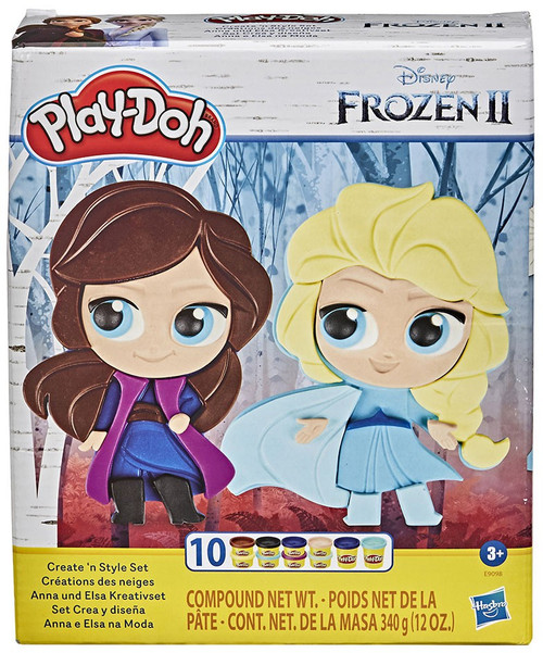 Disney Frozen Frozen 2 Play-Doh Create 'N Style Playset (Pre-Order ships February)