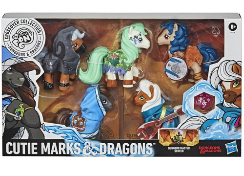 My Little Pony Cutie Marks & Dragons Figure 5-Pack
