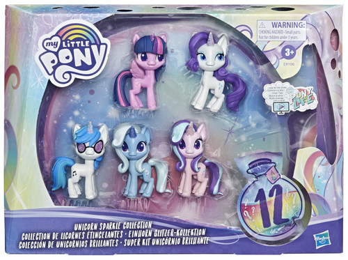My Little Pony Potion Pony Unicorn Sparkle Collection 3-Inch Figure 5-Pack