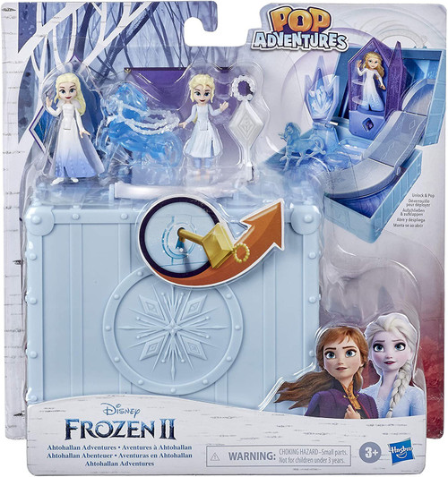 Disney Frozen 2 Pop Adventures Glacier 2.25-Inch Pop-up Playset
