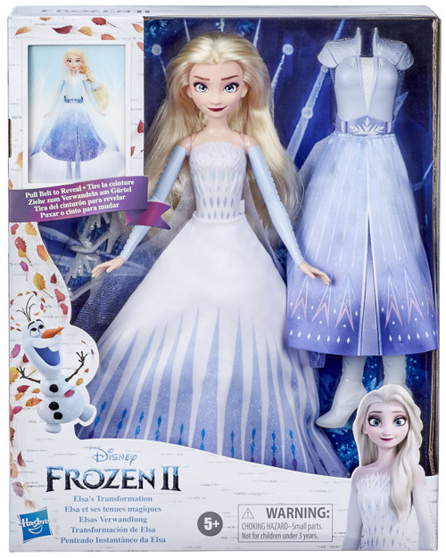Disney Frozen 2 Elsa's Transformation Dolls