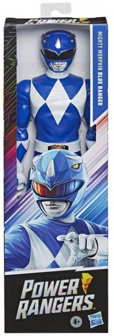 "Power Rangers Mighty Morphin Blue Ranger Action Figure [12""]"