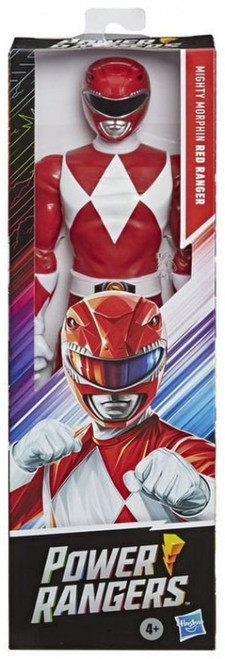 "Power Rangers Mighty Morphin Red Ranger Action Figure [12""]"