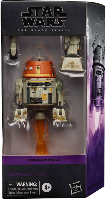 Star Wars Rebels Black Series Chopper (C1-10P) Action Figure