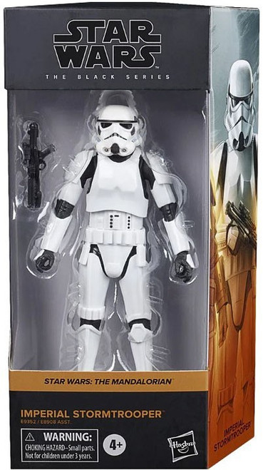 Star Wars The Mandalorian Black Series 2020 Wave 1 Imperial Stormtrooper Action Figure [The Mandalorian] (Pre-Order ships January)