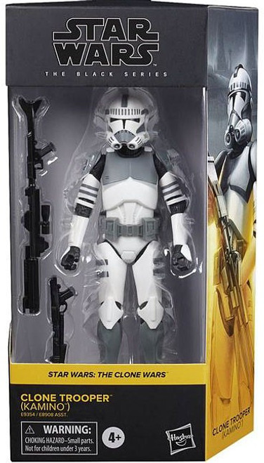 Star Wars The Clone Wars Black Series 2020 Wave 1 Clone Trooper Action Figure [Kamino]