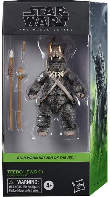 Star Wars Return of the Jedi Black Series 2020 Wave 1 Teebo (Ewok) Action Figure (Pre-Order ships January)