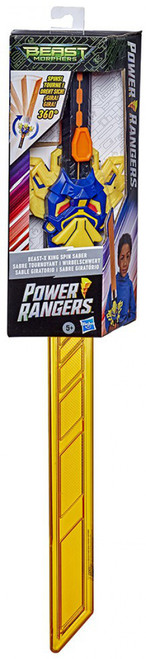 Power Rangers Beast Morphers Beast-X King Spin Saber Roleplay Toy