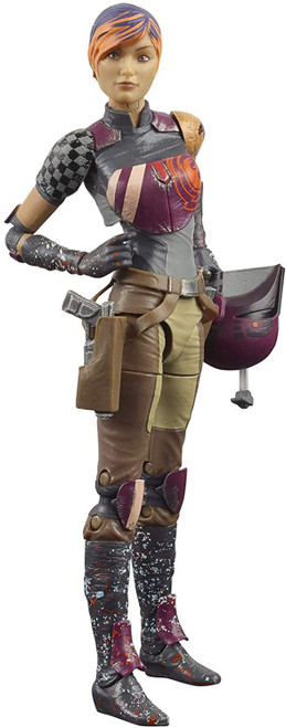 Star Wars Rebels Black Series Sabine Wren Action Figure [Rebels]