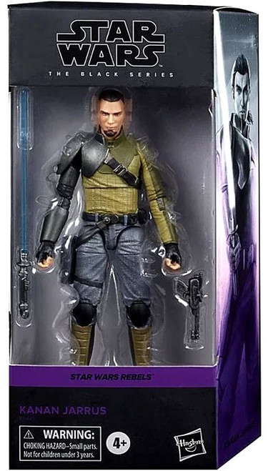 Star Wars Rebels Black Series Kanan Jarrus Action Figure [Rebels]