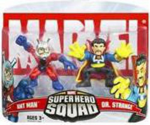 Marvel Super Hero Squad Series 5 Dr. Strange & Ant-Man 3-Inch Mini Figure 2-Pack [Damaged Package]