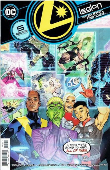 DC Comics Legion of Super-Heroes, Vol. 8 #5A Comic Book